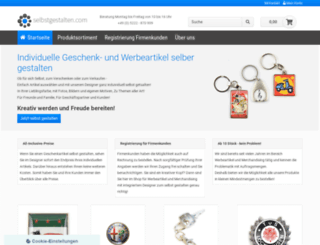 selbstgestalten.com screenshot