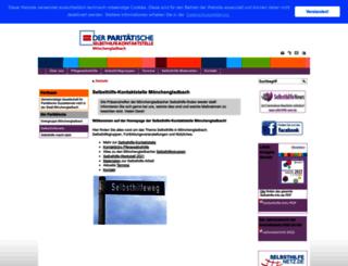 selbsthilfe-mg.de screenshot