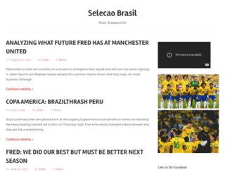 selecaobrasil.com screenshot
