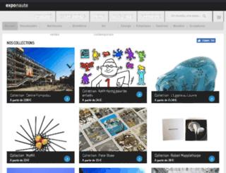 selection.exponaute.com screenshot