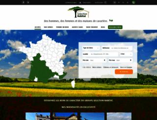 selectionhabitat.com screenshot