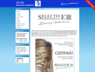 selective-klir.cz screenshot