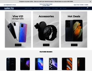 selecto.com.pk screenshot