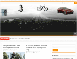 self-balance-unicycle.com screenshot