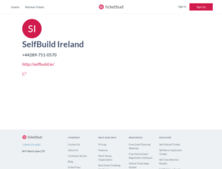 selfbuild.ticketbud.com screenshot