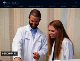 selfcarepharmacy.cedarville.edu screenshot