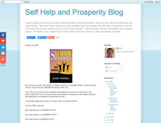 selfhelpandprosperity.blogspot.com screenshot