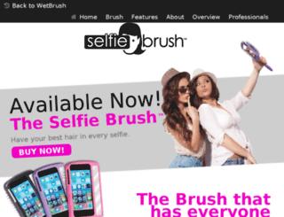 selfiebrush.com screenshot