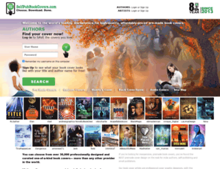 selfpubbookcovers.com screenshot