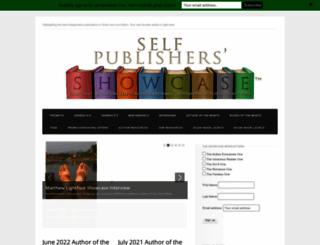 selfpublishersshowcase.com screenshot