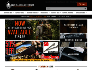 selfrelianceoutfitters.com screenshot