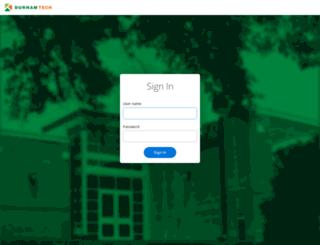 selfservice.durhamtech.edu screenshot