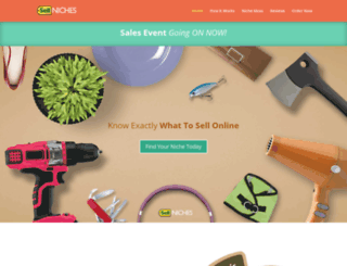sell-niches.com screenshot