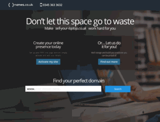 sell-your-laptop.co.uk screenshot