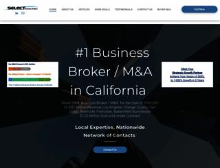 sellbusinessbroker.com screenshot