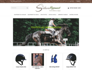 sellerie-hippowest.com screenshot