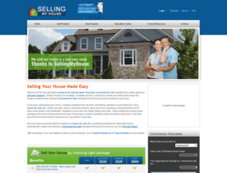 sellingmyhouse.com.au screenshot