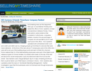 sellingmytimeshare.com screenshot