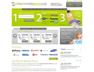 sellmyoldmobilephone.co.uk screenshot
