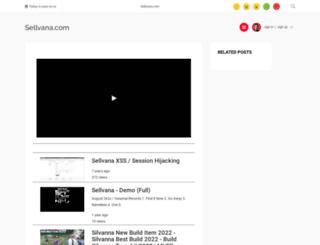 sellvana.com screenshot