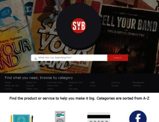sellyourband.com screenshot