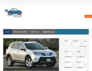 sellyourcar.com.ng screenshot