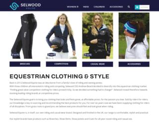 selwoodequine.com screenshot