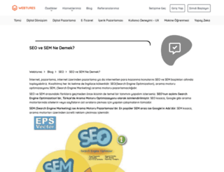 sem.webtures.com.tr screenshot