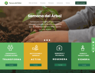 semanadelarbol.org screenshot