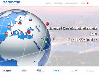 semantikdil.com screenshot