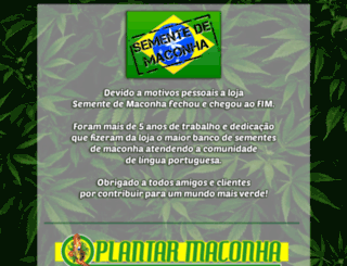 sementemaconha.com screenshot