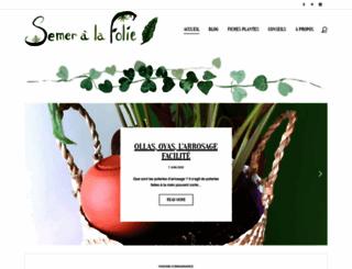 semeralafolie.com screenshot