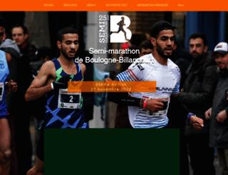 semi-marathonbb.fr screenshot