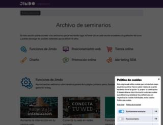 seminarios.jimdo.com screenshot