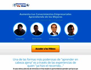 seminariosviaweb.com screenshot