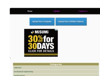seminartopicsreport.com screenshot