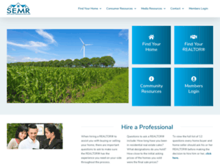 semnrealtors.com screenshot