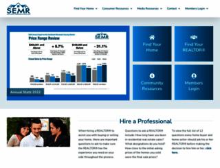 semnrealtors.org screenshot