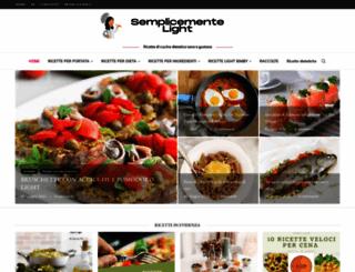 semplicementelight.com screenshot