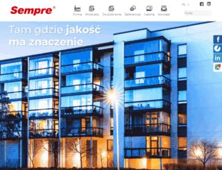 semprefarby.pl screenshot