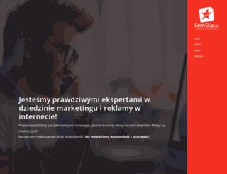 semstar.pl screenshot