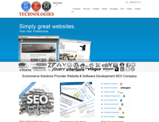 semtechindia.com screenshot