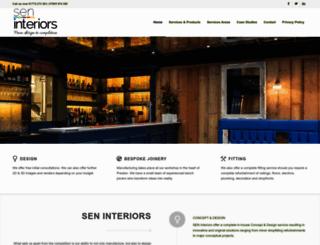 sen-interiors.co.uk screenshot
