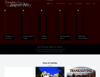 senatorhill.com screenshot