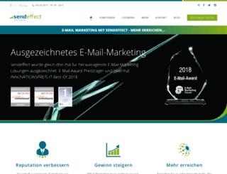 sendeffect.de screenshot