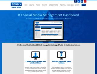 sendsocialmedia.com screenshot