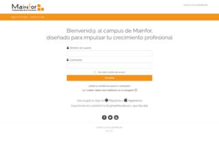 seneca.mainfor.edu.es screenshot