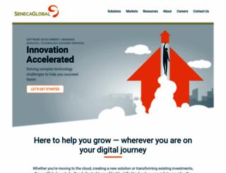 senecaglobal.com screenshot