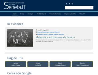 seneta.it screenshot