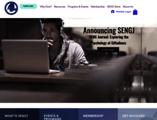 sengifted.org screenshot